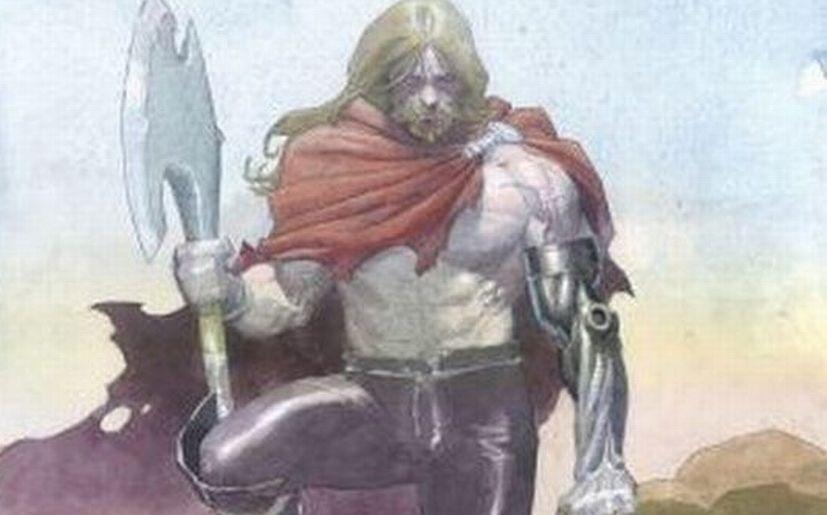 Thor y el hacha de batalla Jarnbjorn