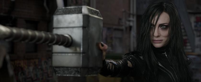3. Thor y Hela en New York City