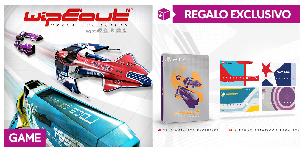Wipeout Omega Collection - Regalos de reserva en GAME