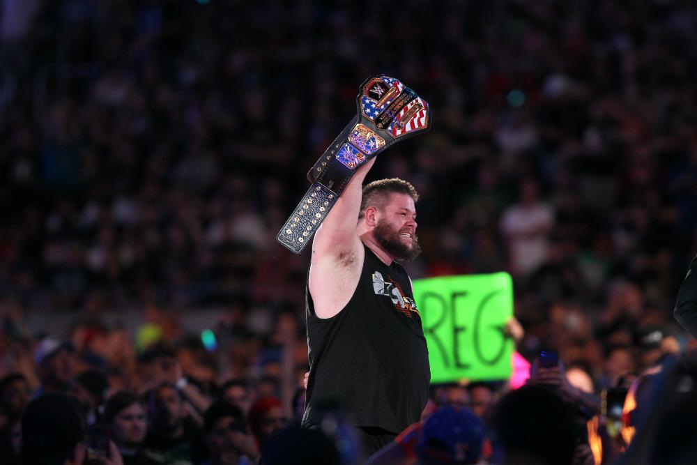 WrestleMania 33 - Campeonato de Estados Unidos - Chris Jericho vs. Kevin Owens