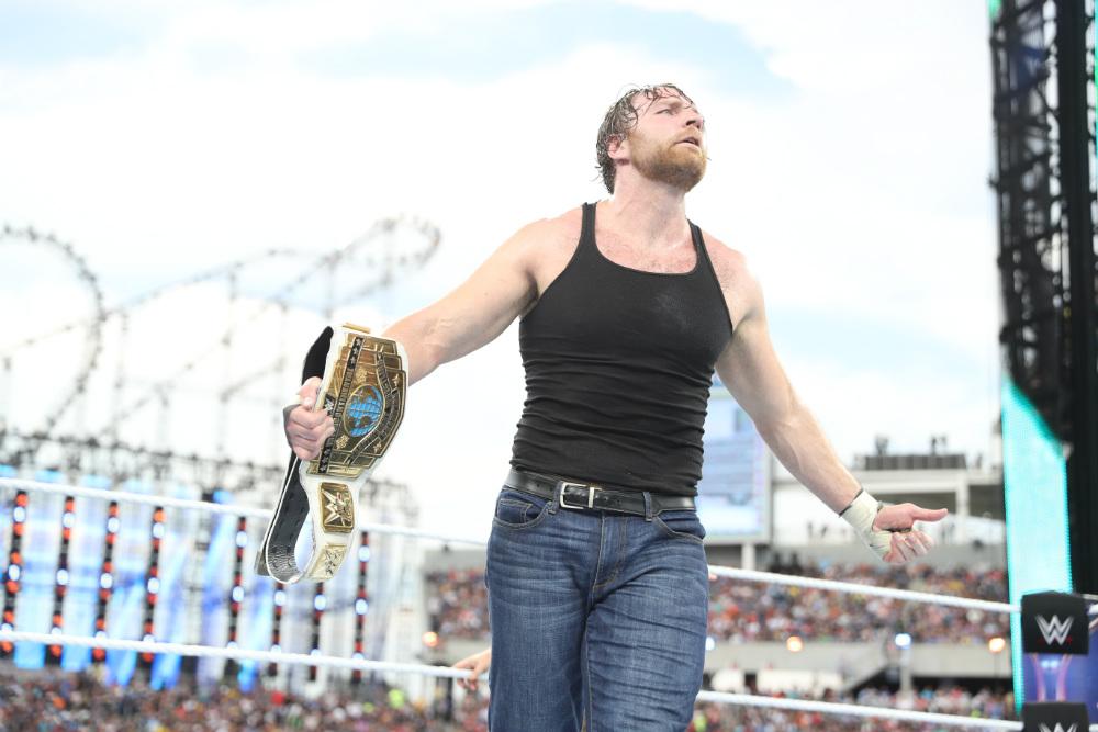 WrestleMania 33 - Campeonato Intercontinental (Kickoff) - Dean Ambrose vs. Baron Corbin