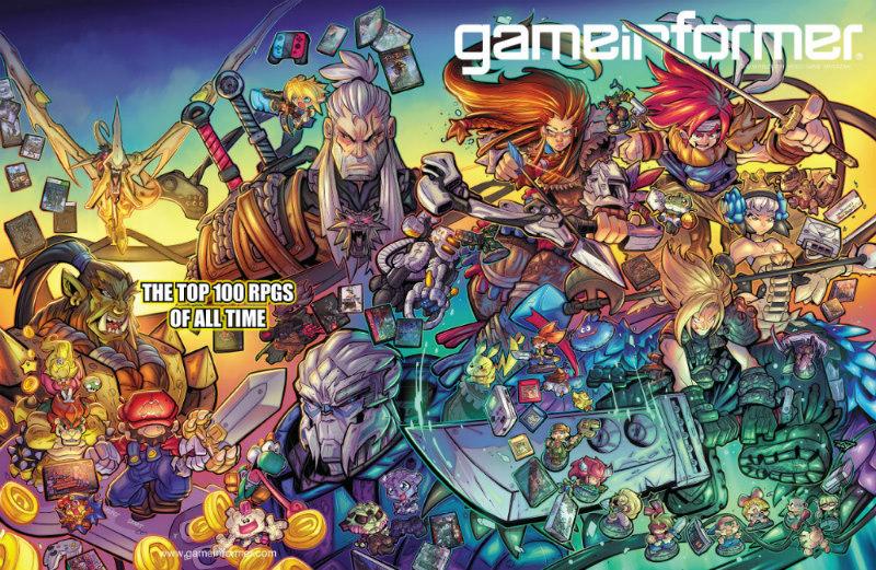 Los 100 mejores RPG de todos los tiempos Game Informer
