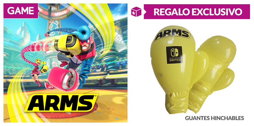 ARMS - Regalo de reserva en GAME