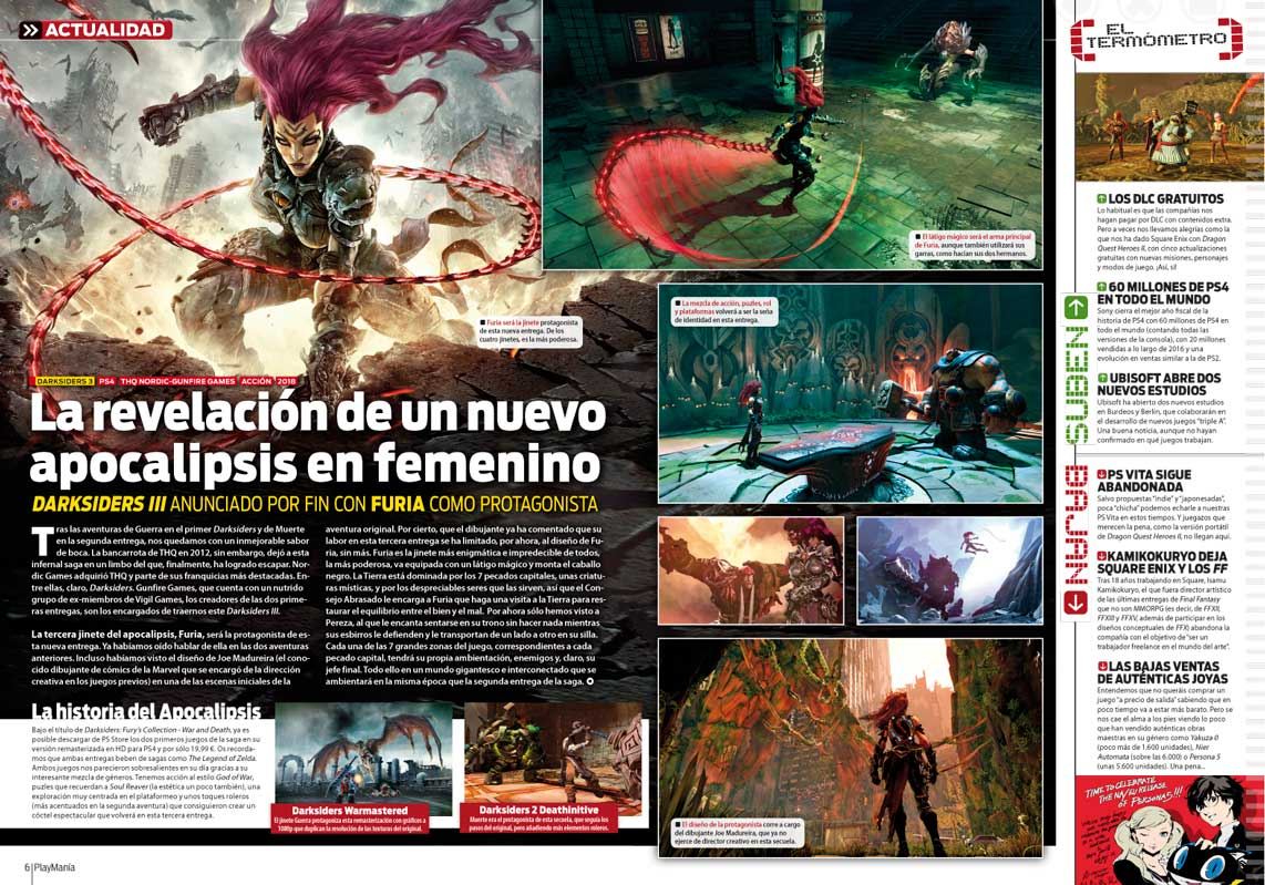 Darksiders III en playmania 223