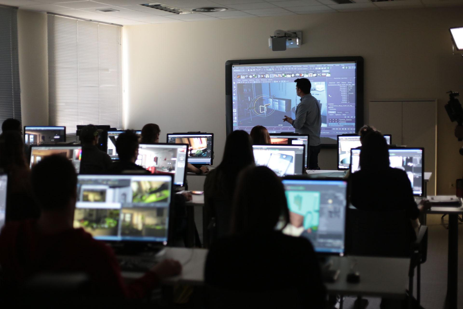 Algunos antiguos alumnos trabajan actualmente el desarrollo de FX visuales para Juego de Tronos.