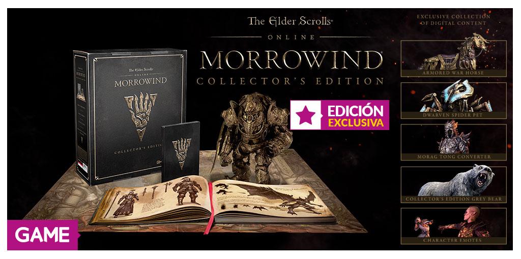 The Elder Scrolls Online Morrowind Edición Coleccionista GAME