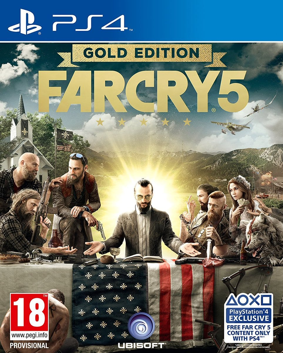Far Cry 5 Gold Edition filtrada en Amazon UK
