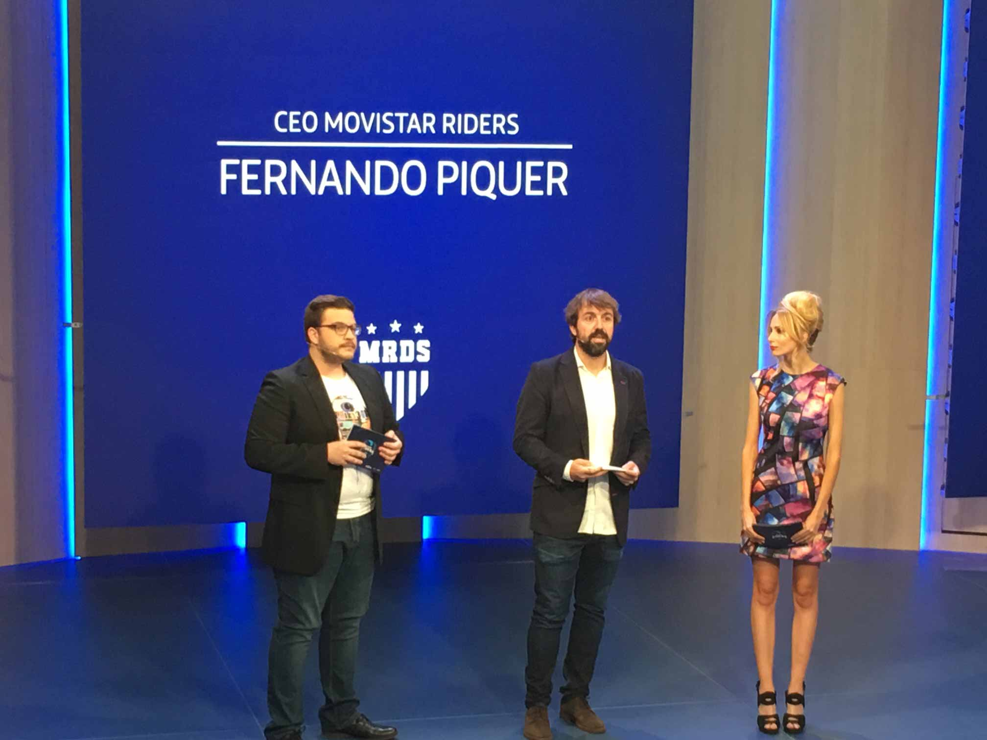 Fernando Piquer Movistar Riders