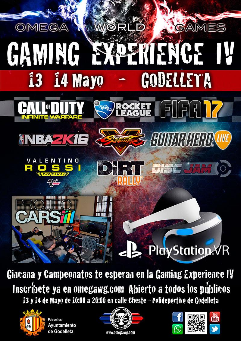 Gaming Experience Godelleta