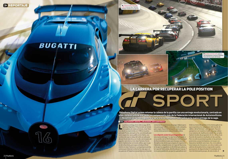 Gran Turismo Sport en Playmania 223