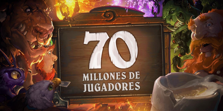 Hearthstone celebra sus 70 millones de jugadores