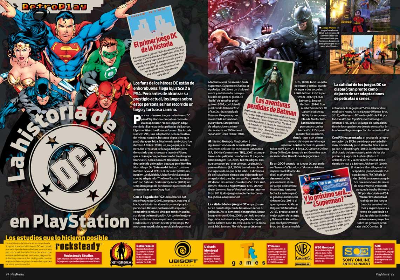 La historia de DC Comics en Playmania 223