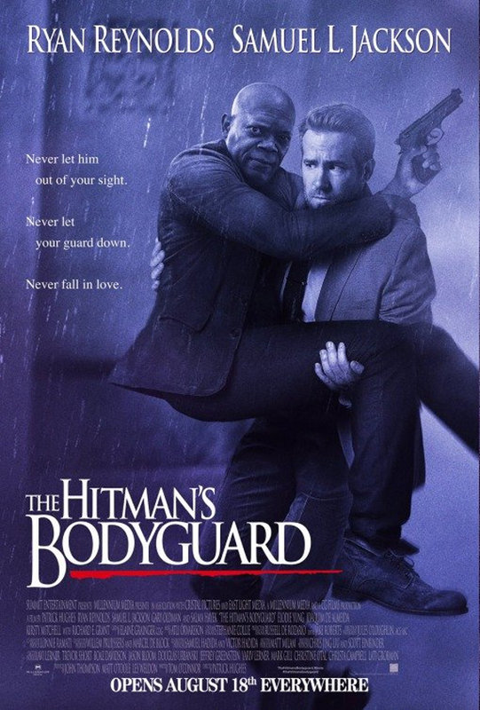 El Guardaespaldas, Ryan Reynolds, Samuel L. Jackson