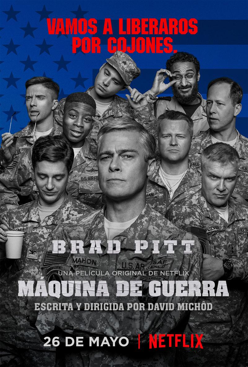Máquina de guerra póster principal español