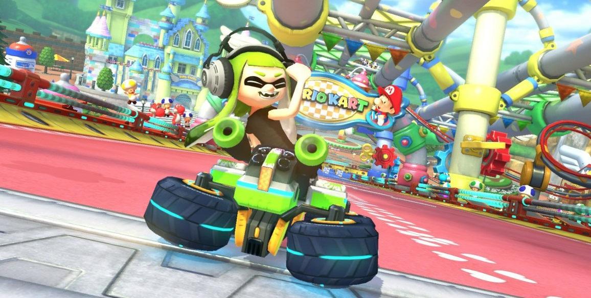 Mario Kart 8 Deluxe - Nuevo gesto de Inkling chica