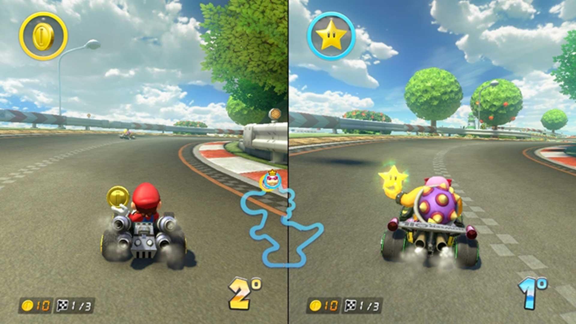 Mario Kart 8 Deluxe objetos