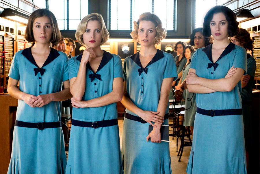 Netflix Chicas del Cable Ficha