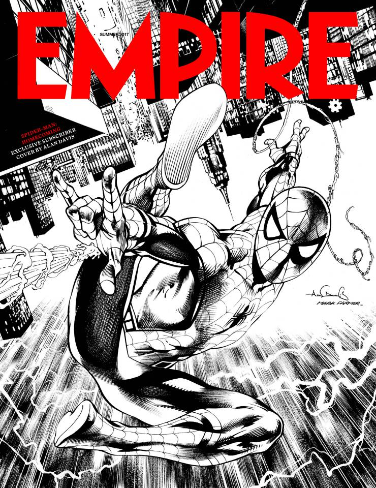 Portada Empire Spider-Man: Homecoming