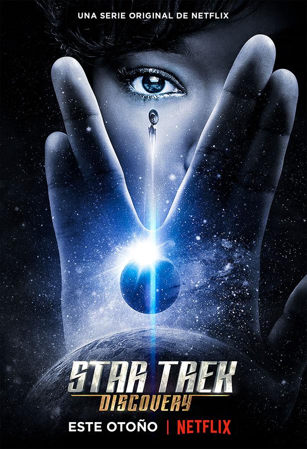 Póster oficial de Star Trek: Discovery