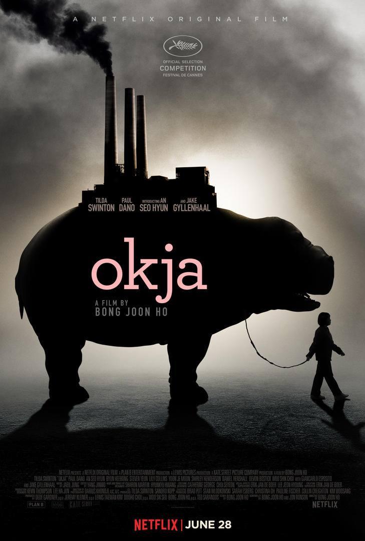 Póster promocional de Okja