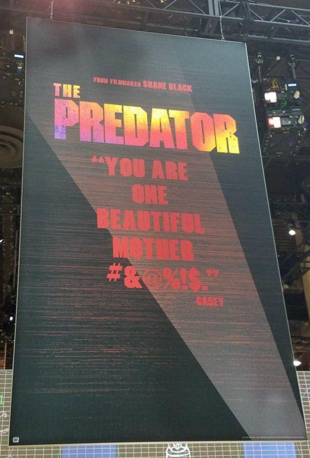 The Predator - Nuevo póster