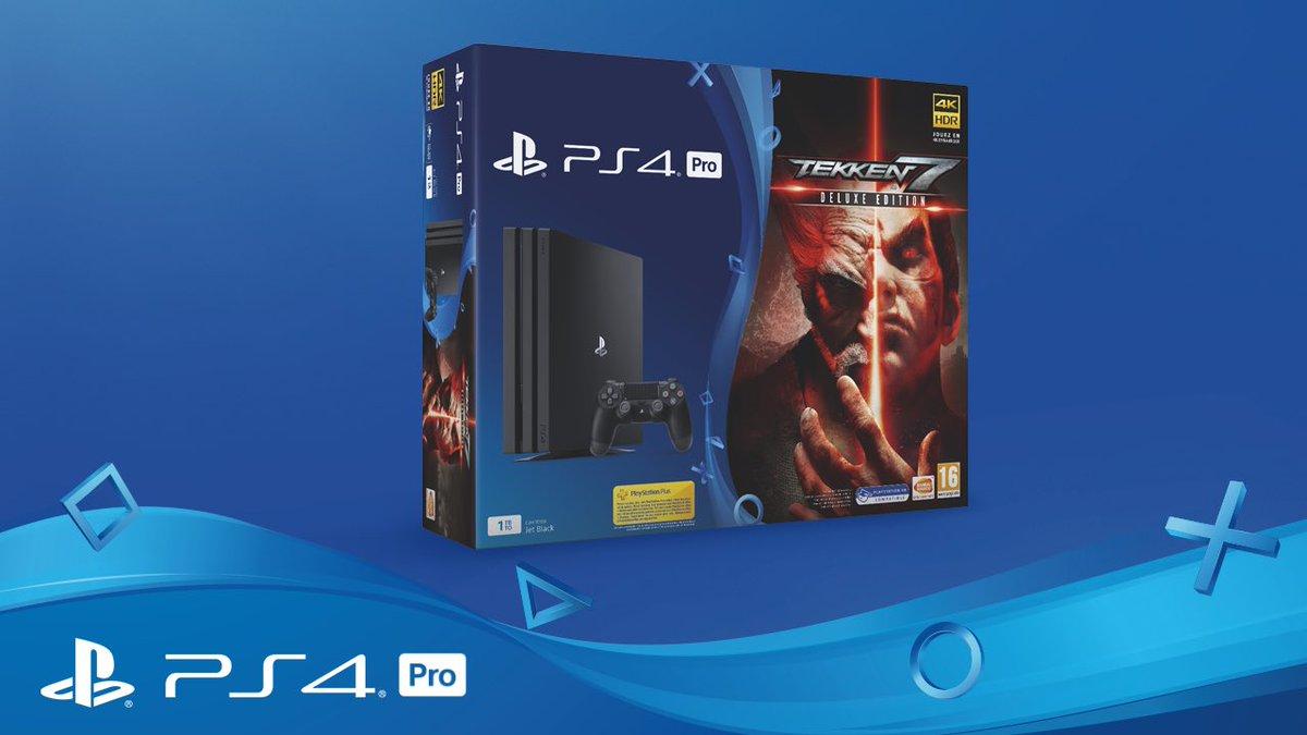 PS4 Pro + Tekken 7