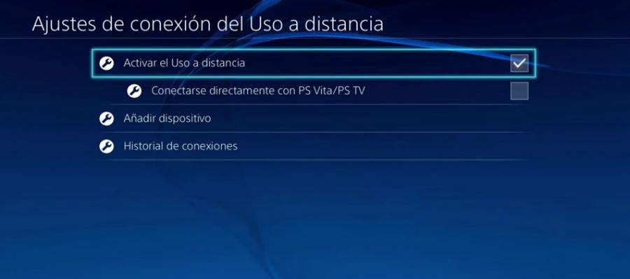 Remote Play de PS4