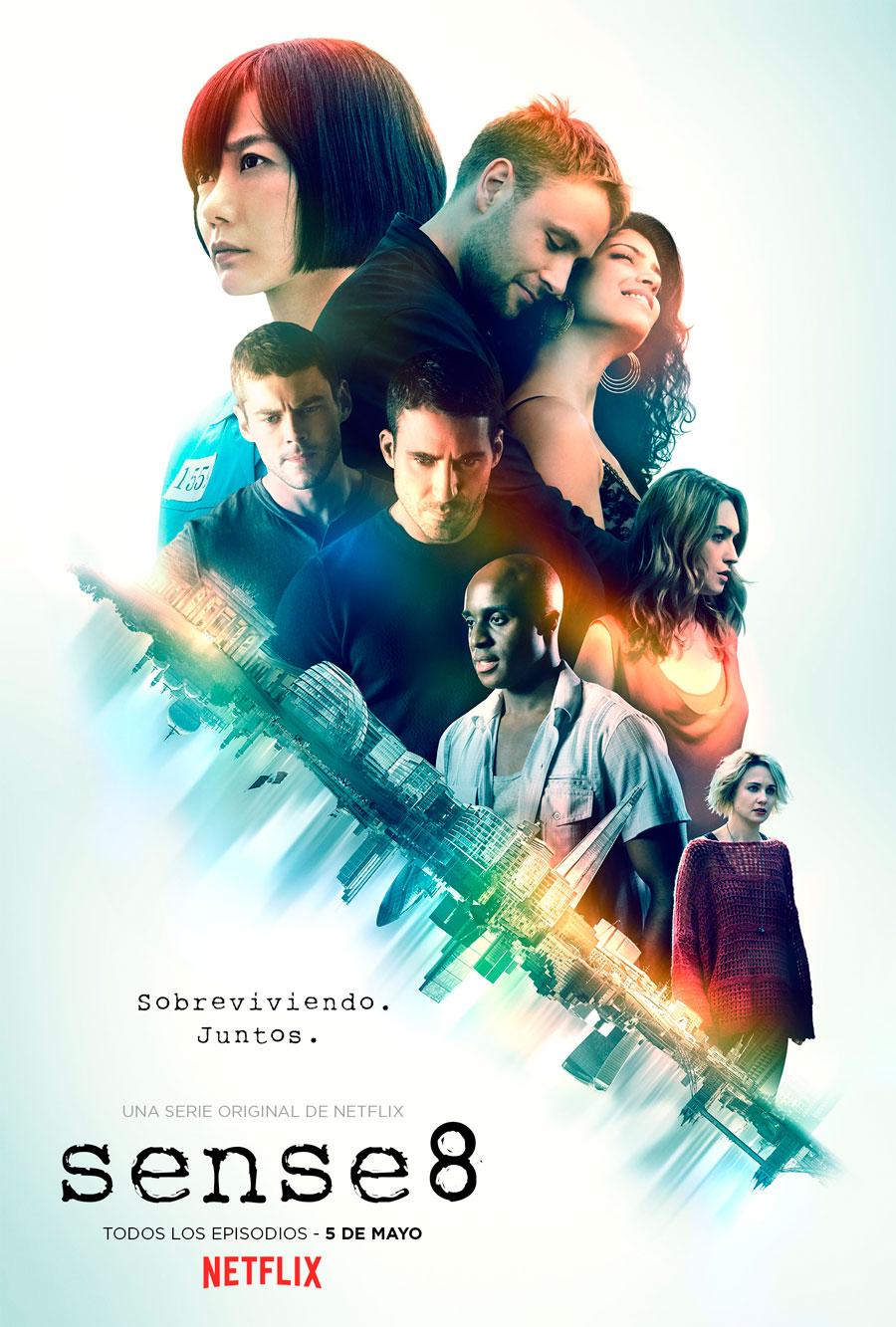 Sense8 temporada 2 póster