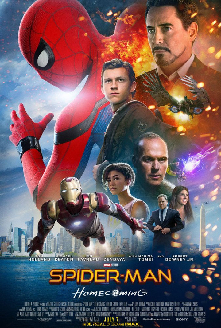 Spider-Man: Homecoming - Póster