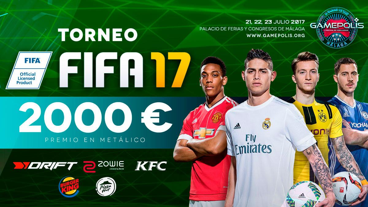 Torneo FIFA 17 en Gamepolis 2017