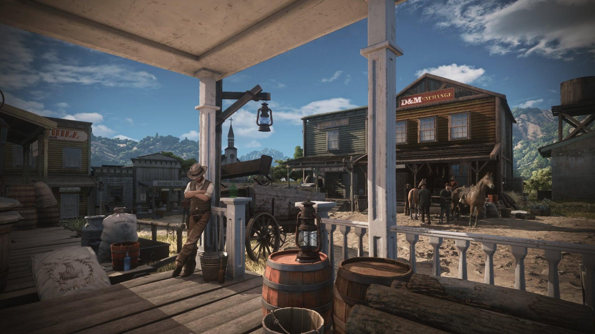 Wild West Online - La imagen fake de Red Dead Redemption 2