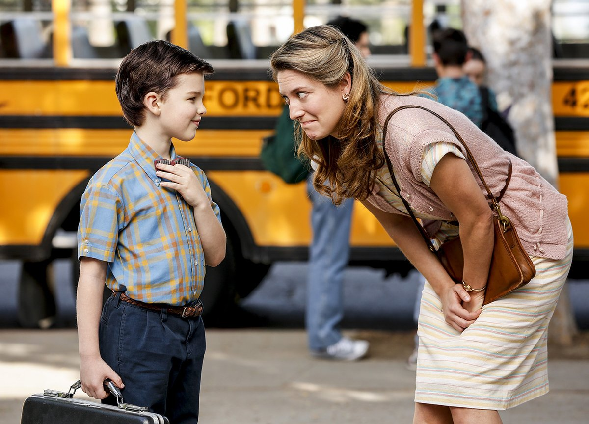 Young Sheldon - Primeras imágenes del spin-off de The Big Bang Theory
