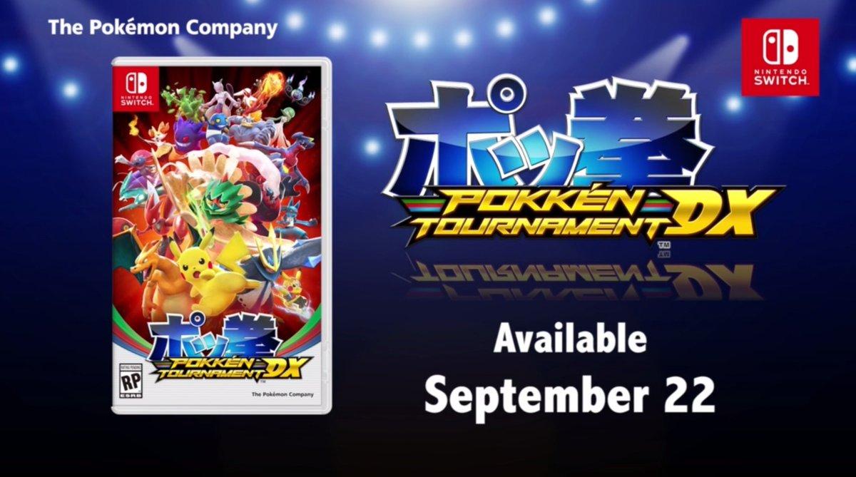 Pokkén Tournament DX - Carátula
