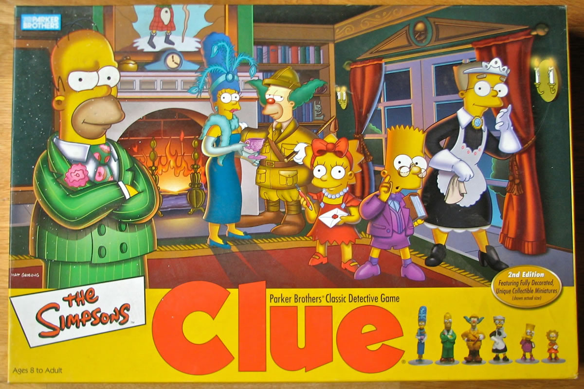The Simpsons Clue