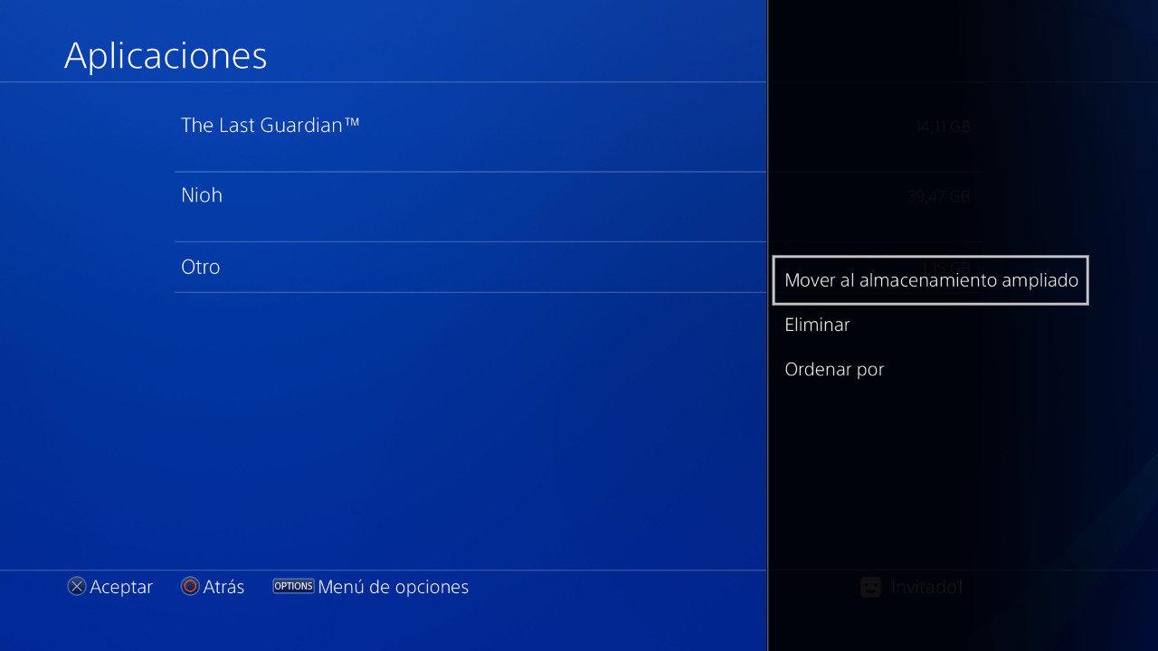 Disco duro externo en PS4