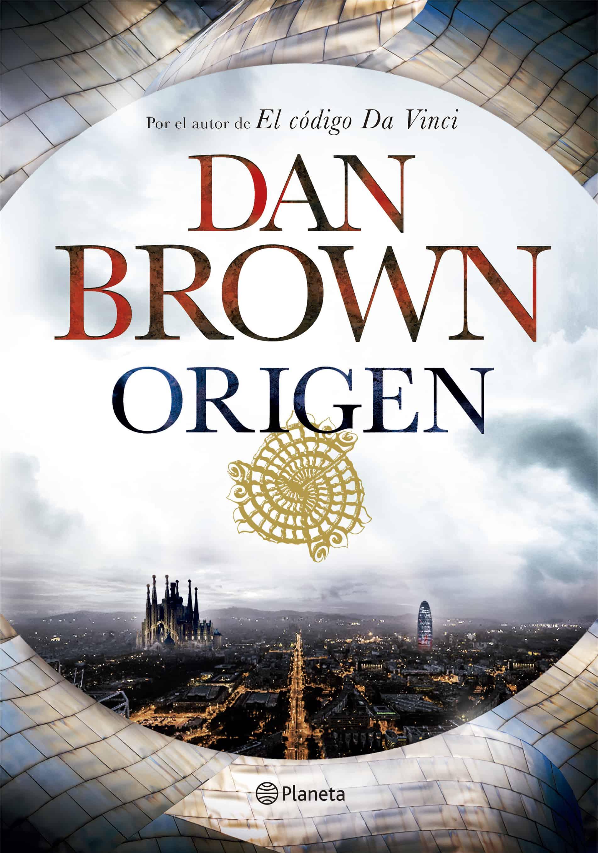 Dan Brown portada Origen