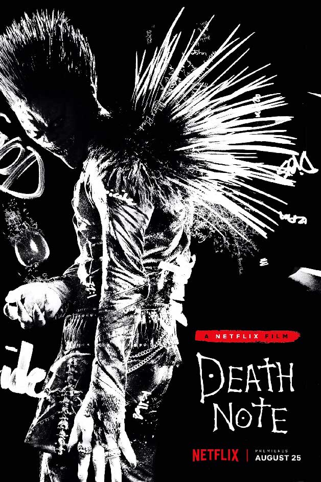 Death Note - Williem Dafoe como Ryuk