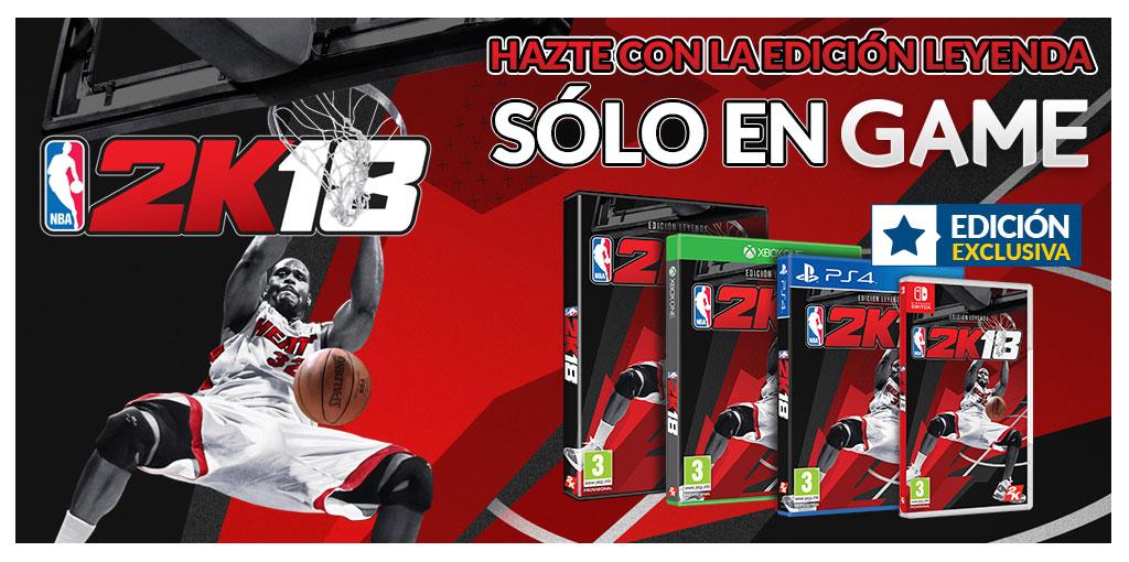 NBA 2K18 Edición Leyenda GAME