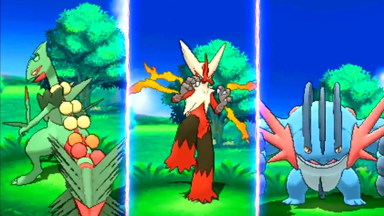 Pokémon Sol y Luna - Megaevoluciones