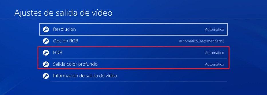 Juegos con HDR