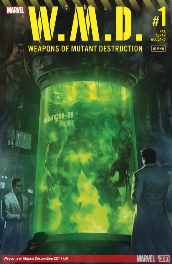 Weapons of mutant destruction - Híbrido de Hulk y Lobezno