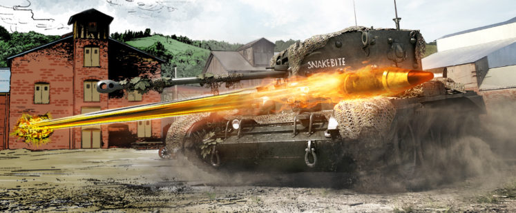 World of tanks roll out 4