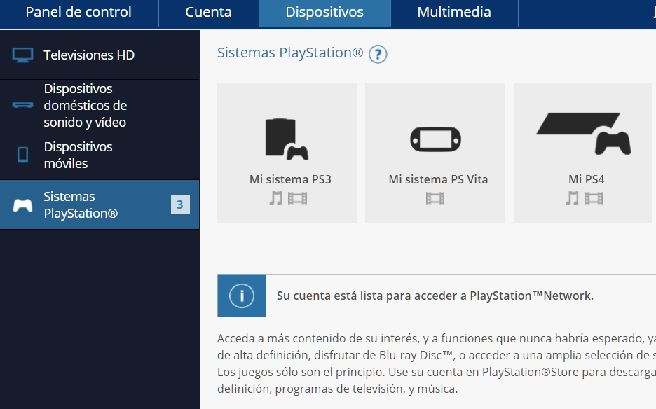 Desvincular cuenta PSN de PS4