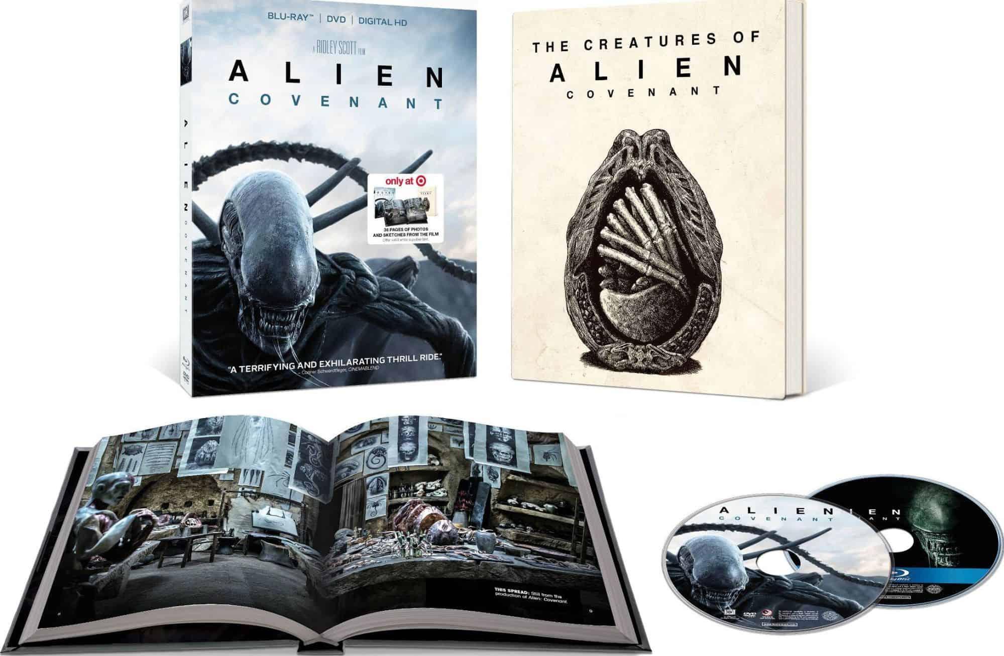 Alien: Covenant en blu-ray