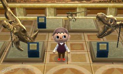 Animal Crossing New Leaf - Fósiles