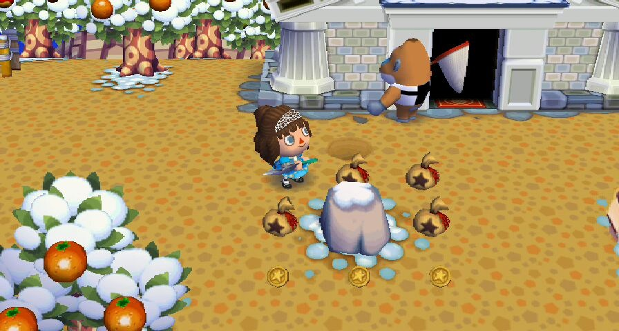 Animal Crossing New Leaf - Roca del dinero
