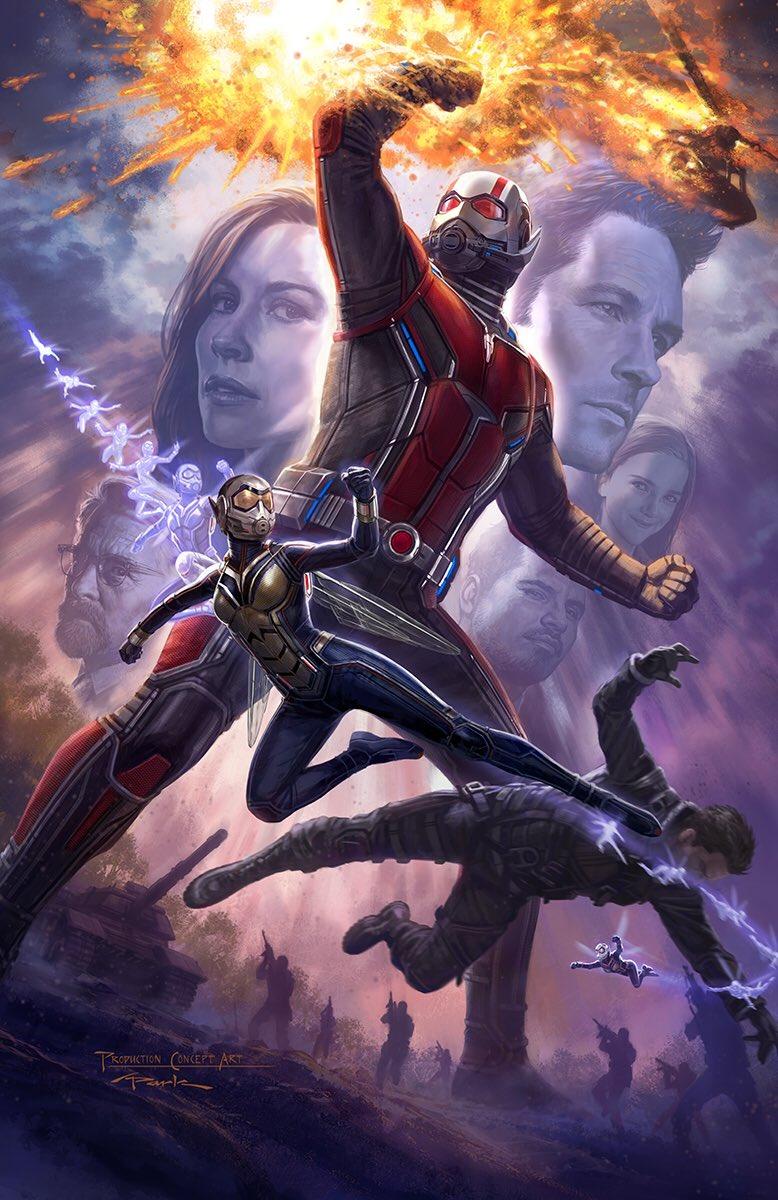 Ant-Man y la Avispa - Cartel de la Comic-Con 2017