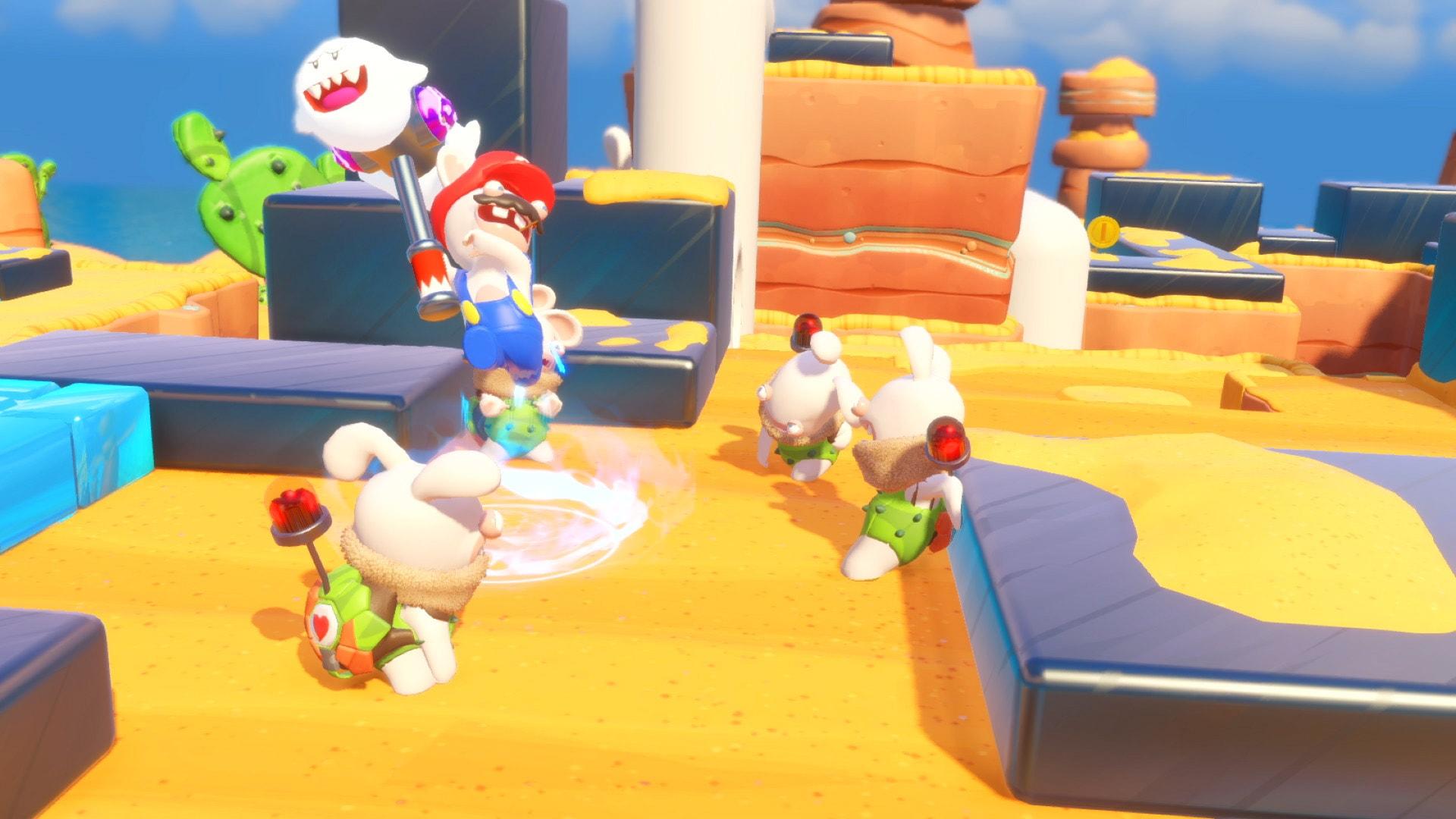 Imágenes de Mario + Rabbids Kingdom Battle, el juego de Ubisoft para Nintendo Switch