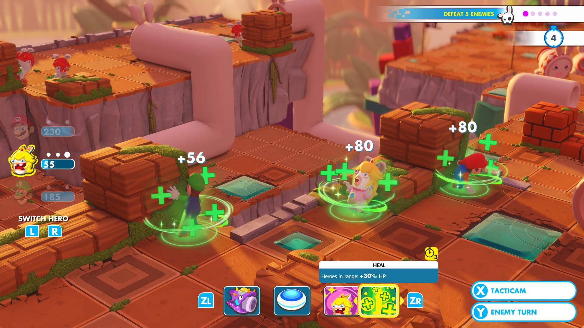 Avance de Mario + Rabbids Kingdom Battle