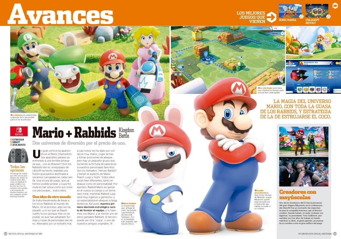 Avance Mario + Rabbids